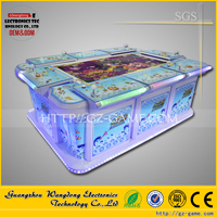 Amazing cabinet arcade fishing game machine hunting fish game fishing 32 inch for sale