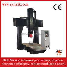 2015 hot sale Guangdong cheap CNC milling machine 5 axis