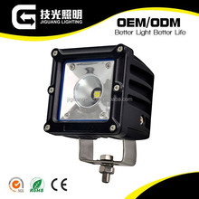 High lumens 15w led car work light for truck offroad vehicles