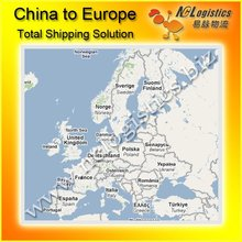International logistics ship from China to Poland