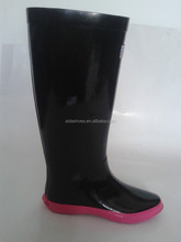 Women Flat Rubber Rain Boots Short Ankle Waterproof rain Boots