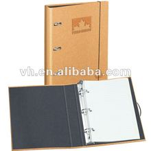 2012 New design 3 hole binder notebook with lined paper