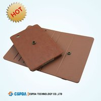 2011 most popular style PU leather case for Lenovo A1