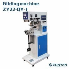 Color open ink tray tampo pad printing machine