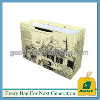 brown grocery kraft paper bags for shoe packaging