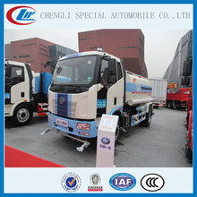 High pressure Street Sprinkler Tank Truck 10000l to 15000l Water Bowser FAW Watering vehicle