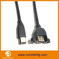 IEEE-1394 - 6 pin FireWire 400 Extension Cable - 7m