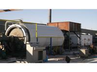 waste plastic tire pyrolysis machine /pyrolysis oil to diesel plant