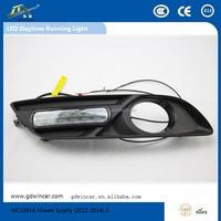(2012) Wholesale 12V led hot sale running lights suitable for Nissan Sylphy system LED Daytime Running Lights