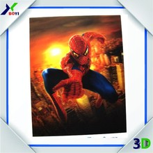 China Manufacturer New Design 3d Poster,Laminated 3d Picture,Lenticular Printing 3d Promotion