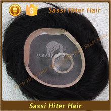 wholesalers china indian remy human hair toupee / wig for men
