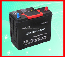 45AMP Best selling products 12v solite car battery factory