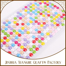 mix color resin sticker acrylic sticker strips