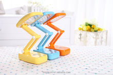 2015 multifunction eye protection rechargeable dimmable folding led desk lamp