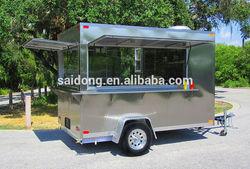 china food kiosk grill bbq /Hot Dog Cart/ Coffee Cart/Ice Cream Cart
