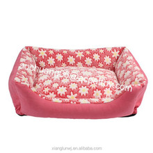 Fashion pet cushion dog bed cover for winter