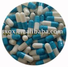 Hot products for 2012 empty gelatin capsules size00,0,1,2,3,4