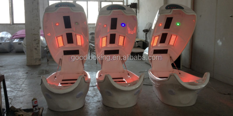 the best guangzhou infrared ozone cabinet/Infrared Dry Steam Sauna Cabin/slimming spa capsule/ Salon Infrared Light Spa Capsule