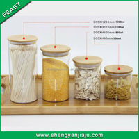 alibaba china supplier large glass jar with screw top lid