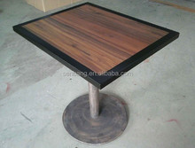 high pressure laminate top with solid wood legs breakfast table