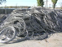 High purity aluminum wire scrap 99.7%