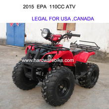2015 EPA certificate for Canada and USA ATV for adult