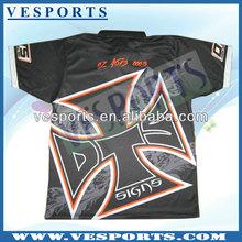 custom sublimation coopration polo shirts