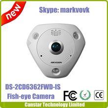 3072 x 2048 Image resolution 6MP Hikvision Fisheye Camera DS-2CD6362F-IVS