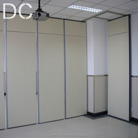 operable wall partition for hotel and hospital