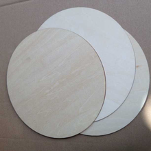"wood blank for painting plywood 8"" round pieces for art and craft"