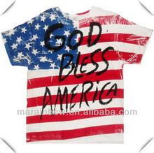 Mens Navy short sleeve American Flag Tshirt,Patriotic American Flag T-Shirts ,TheFlagShirt.