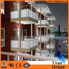 Low Cost Light Gauge Steel Framing Prefabricated Residential Apartment Building Made in China