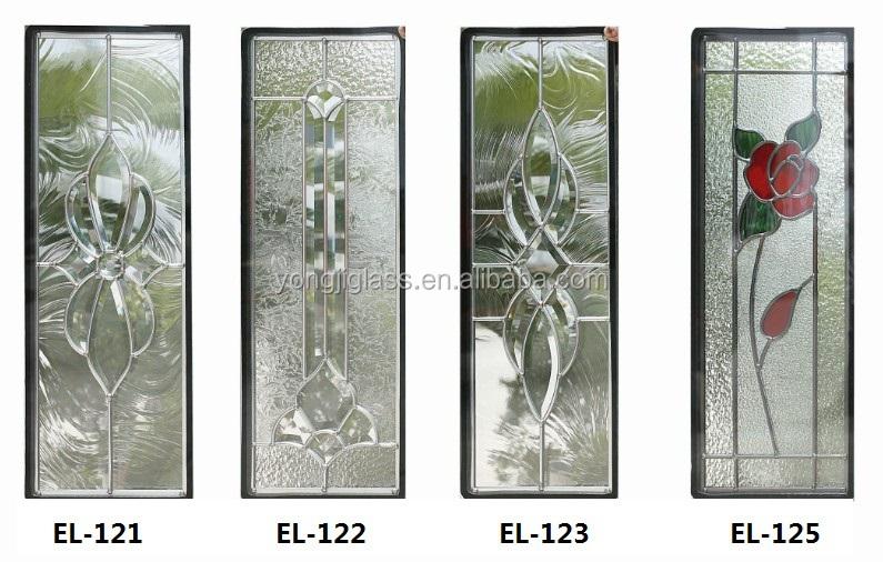 half glass entry door panels inserts