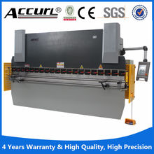 mb8series 125Tons hydraulic press brake 10mm thickness 2500mm length plate iron bending machines