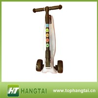 Best Quality 3 PU wheel /bearing/trucks child kick scooter with EN71