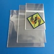 Crystal Clear Resealable Polypropylene Bags