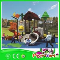 Safe plastic cheap playground slides for sale, children amusement park outdoor playground equipment