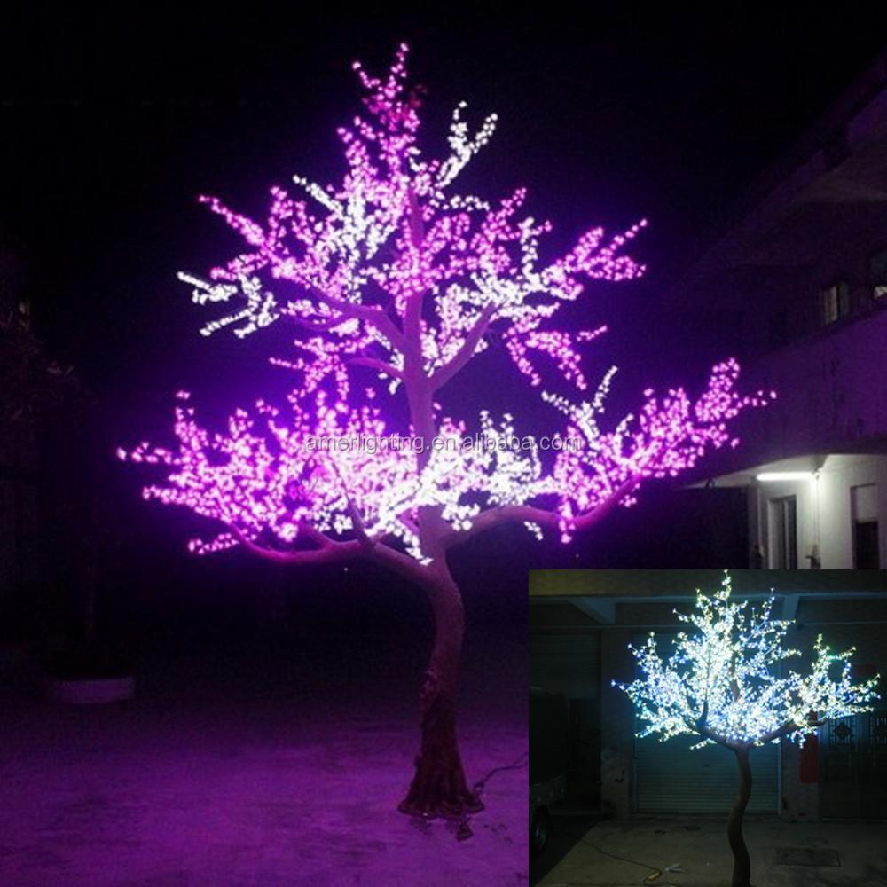 2 8 m grande artificielle ext rieure led arbre brindille for Affichage lumineux exterieur
