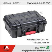 plastic equipment case with handle SH45-1