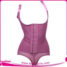 Women purple body shaper magic slimming building underwear