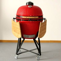Camping Equipment Red Stone Grill for BBQ