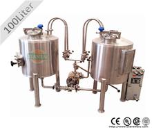 100l cerveza de fermentación para equipos de elaboración de la cerveza en casa