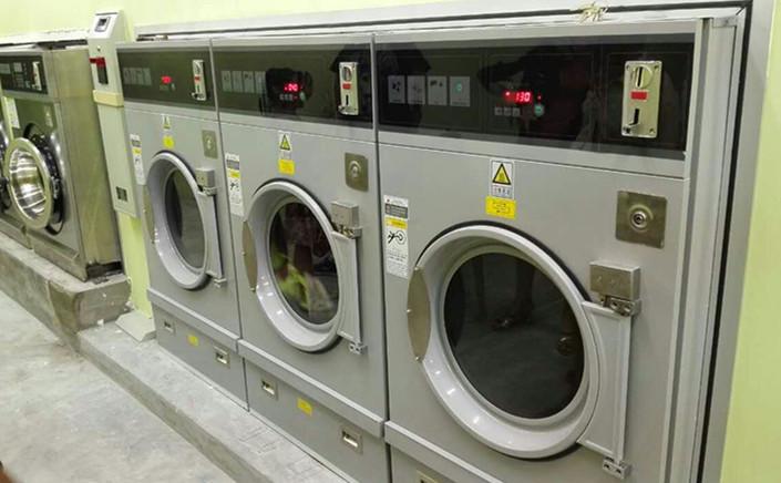 coin washing machine and dryer