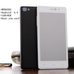Original 5.0 Inch IPS Screen Android 4.4 3G quad core mobile phone