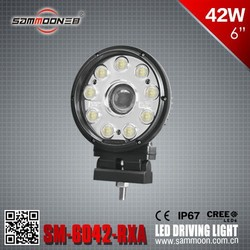 LED work light 42w 6 inch driving light for truck suv crv off road 4wd ip67