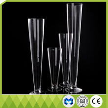 Modern fashionable simple trumpet glass vase