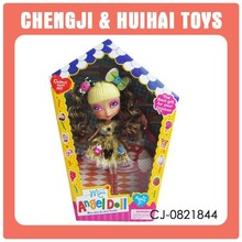 DIY hot selling plastic 10.5 inch candy doll models