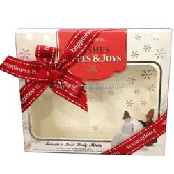 customized cosmetic paper box , matt laminated , embossed , hot foil paper box
