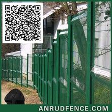 Elegant Metal Wire Fence