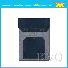 New Style Wool Felt Leather Bags For Samsung Galaxy Tab 4 Lite T116, 7 inch Tablet Wool Felt Leather Case